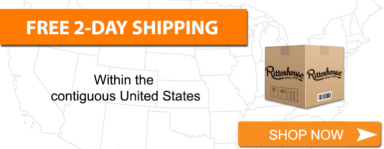 Free Two-Day Shipping on nearly all products to destinations in the Lower 48 US States.