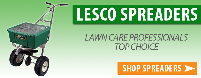 Popular Lesco spreaders are Always in Stock.